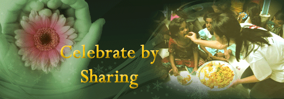 Celebrate by Sharing